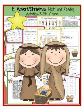 3rd Grade Christmas and Winter BUNDLE  **Save Big with Bundles**