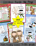 Fun Math Worksheets BUNDLE: Christmas and Winter