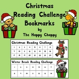 Christmas and Winter Break Reading Challenge Bookmark