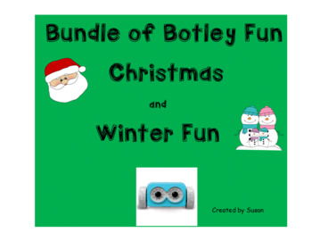 Christmas and Winter Bundle of Fun for Botley the Coding Robot