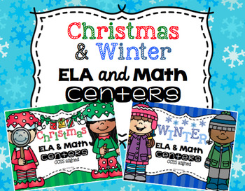 Christmas and Winter Centers {Bundle}