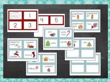 Christmas and Winter Counting Syllables Center