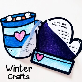 Christmas and Winter Craftivities Bundle - How to Procedure Writing Prompts