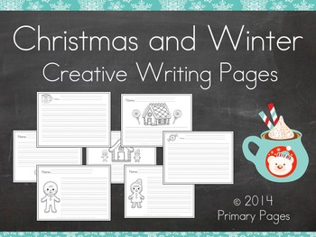 Christmas and Winter Creative Writing Pages