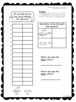 Christmas and Winter Graph Questions with Recording Sheets (FULL SIZE)