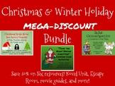 Christmas and Winter Holiday Mega Middle School Bundle-Save 50%