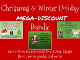 Christmas and Winter Holiday Mega Middle School Bundle-Save 50%