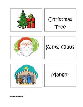 Christmas and Winter Holiday Memory Game
