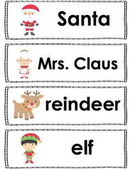 Christmas and Winter - Literacy and Math Activities