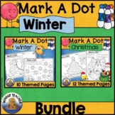 Winter Dot Dauber Set BUNDLE