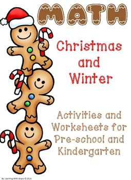 Christmas and Winter Math Activities and Worksheets
