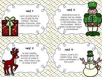 Christmas and Winter Math Center Bundle