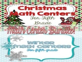Christmas and Winter Math Center Bundle