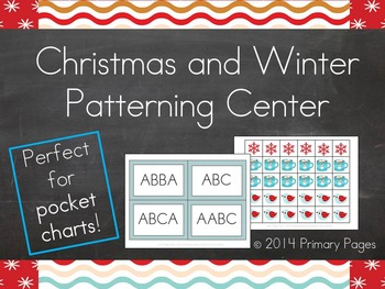 Christmas and Winter Patterning Center