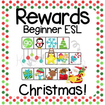 10 Printable Christmas & Winter Rewards for Young Learners ESL VIPKid DadaABC