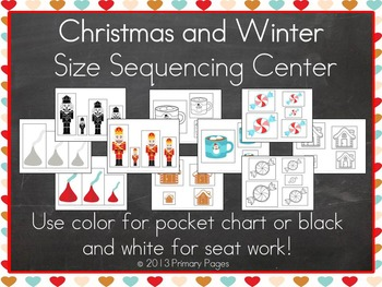 Christmas and Winter Size Sequencing Center
