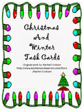 Christmas and Winter Task Cards