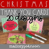 Thank You Cards - Christmas and Winter