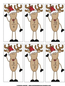 Christmas and Winter Themed Math Centers and Activities {Common Core Aligned}