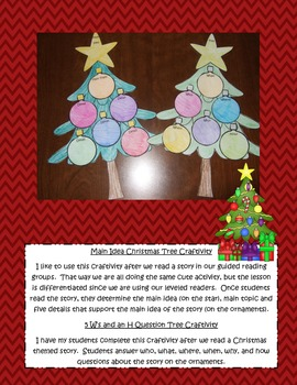 Christmas & Winter Themed Reading Comprehension Book Craftivities For Any Book!
