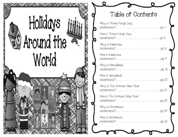 Christmas (and other holidays too) Around the World - nonfiction student reader