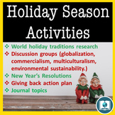 The Holiday Season and Christmas Activities for Discussion and Critical Thinking