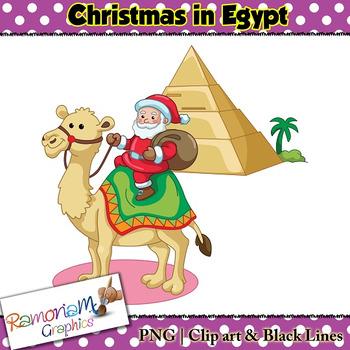 Christmas around the World Clip art Egypt