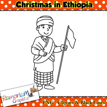 Christmas around the World Clip art Ethiopia