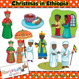 Christmas around the World Clip art Ethiopia