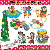 Christmas around the World Clip art Kenya