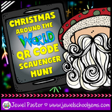 Christmas Around the World Activities (Christmas QR Codes Scavenger Hunt)