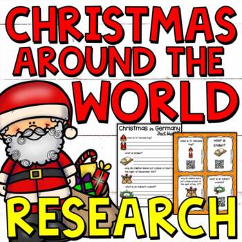 Christmas grades 3 5 teaching resources teachers pay teachers christmas around the world research stations for grades 3 5 fandeluxe Choice Image