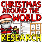 Christmas around the World Research Project Templates for Grades 3-5