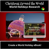 Holidays around the World - Christmas Research Project - Create an eBook!