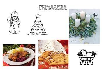 Christmas around the world (Europe) - Χριστούγεννα σε όλο τον κόσμο (Ευρώπη)