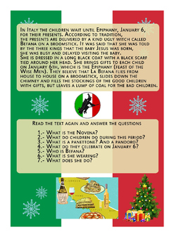 Christmas around the world ITALY