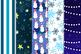 Christmas at Night Digital Paper