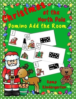 Christmas at the North Pole Domino Add the Room (Sums of 0 to 10)