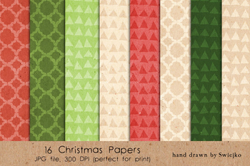 Christmas background, cardboard texture, holiday pattern, xmas