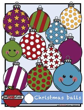 Christmas balls Cliparts