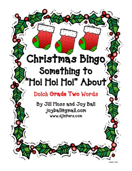 Christmas bingo:  Dolch Grade Two High Frequency Words