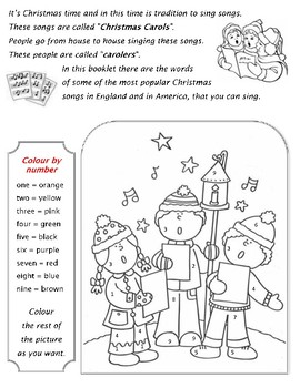 Christmas boklet with many activities
