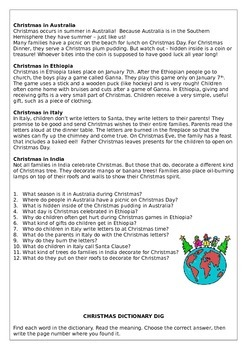 Christmas booklet