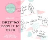 Christmas booklet / Libro de Navidad