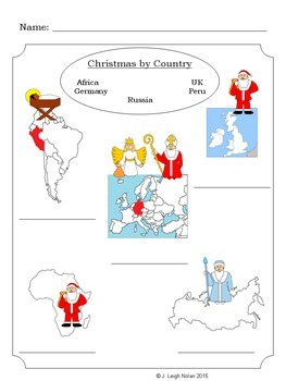 Christmas by Country BUNDLE