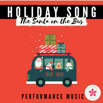 'Wheels on the Bus' Christmas Song for Pre-k / Kindergarten - MP3 included!