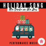 'Wheels on the Bus' Christmas Performance Song - Holiday C