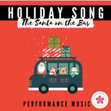 'Wheels on the Bus' Christmas Song for Pre-k / Kindergarte