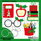 Christmas centers and activities clip art
