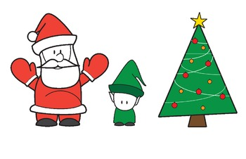 Christmas characters that speak and think!